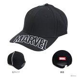 マーベル 帽子 シシュウロゴブラック柄 フリーサイズ 51007 【disneyzone】