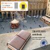 【クロネコDM便送料無料】【新色キャメル登場!】midori(ミドリ)「TRAVELER'Snotebook(トラベラーズノート)」スターターキットパスポートサイズ【10P01Mar16】