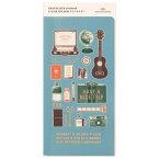 【在庫処分】【メール便対応可】midori(ミドリ) 「TRAVELER'S notebook(トラベラーズノート)」クリアホルダー 2020 レギュラーサイズ 14413006