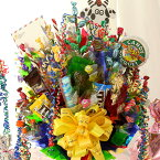 【TVで話題! キャンディブーケ 楽天1位 送料無料】スイーツ・アレンジ「Happyポップコーン!」【誕生日プレゼント 女性 誕生日 プレゼント ギフト お祝い 七五三 出産祝い 開店祝い 花 スイーツ フラワー キャンディー ブーケ 花束 造花】