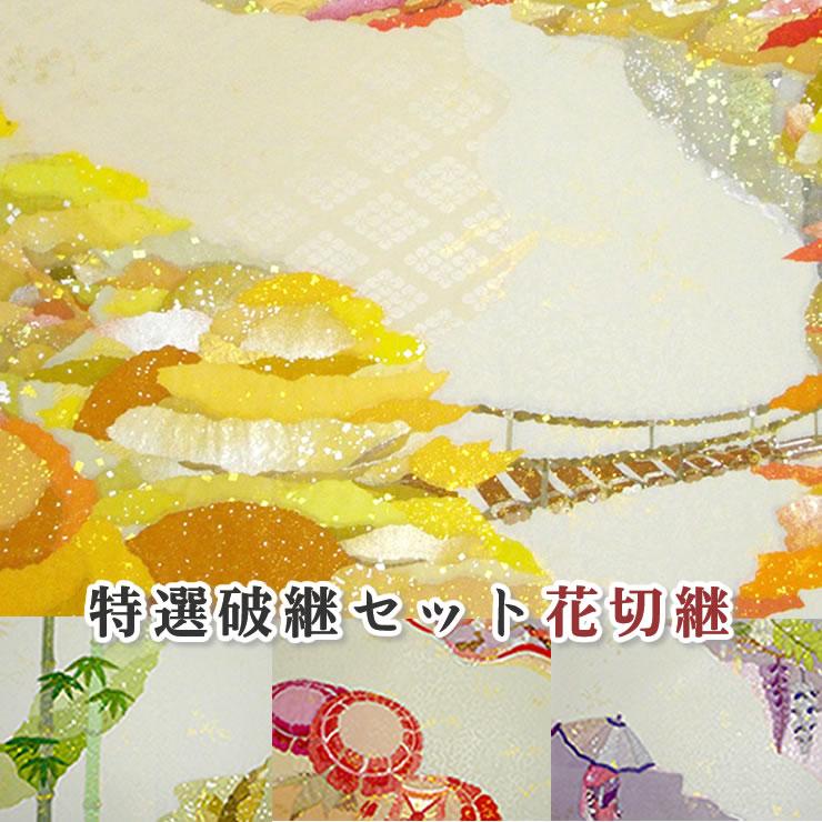 【希少】特選破継セット花切継/11枚入り【全懐紙】本継紙