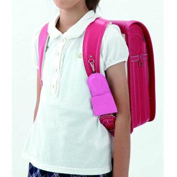 レイメイ藤井 通学用 キーケース リール付き ピンク(GLK120P)/ランドセルに付けたまま鍵が使用可能/学童向け/小学生/女の子/紛失防止