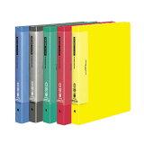 【全5色・A4-S・縦型】コクヨ/クリヤーブック<ウェーブカットポケット・替紙式>(ラ-T730)30穴 25枚のポケット付き 書類の出し入れがしやすいウェーブカットポケット KOKUYO