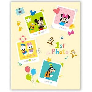 日本ホールマーク/絵本アルバム ディズニー ミッキーと仲間たち(EAL-722-692)1st photo 赤ちゃんの「はじめて」を、絵本の形で残せるアルバム【出産祝い】【ギフト】EAL722692 Hallmark