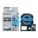 キングジム テプラPROテープカートリッジ(SFS9B)アイロンラベル 青(9mm幅) KING JIM TEPRA 「テプラ」PROテープカートリッジ