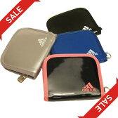 【数量限定セール】adidas アディダス/エナメルウォレット Z7667 2つ折り サイズ(約W13×H10cm)【財布、パース、ワレット】