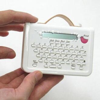 """【数量限定特価!】キングジムマスキングテーププリンター""""こはる""""MP10(ホワイト)対応ラベル幅:15mm※""""こはる""""専用マスキングテープのみ対応【本体】"""