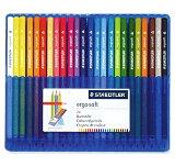 24色セット ステッドラー 色鉛筆 エルゴソフト 157 SB24【グッドデザイン賞受賞】