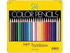トンボ/色鉛筆 24色セット/CB-NQ24C