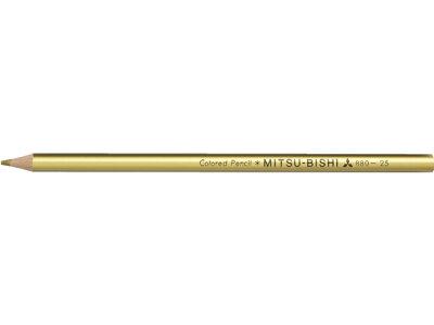 三菱鉛筆/色鉛筆 きんいろ/K880.25