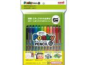 三菱鉛筆 ポンキーペンシル