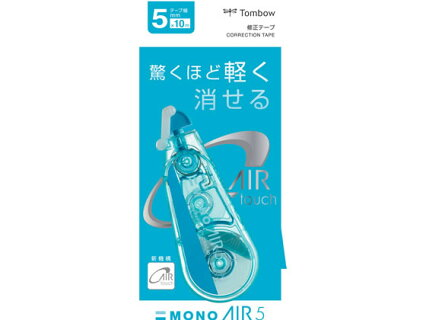 トンボ鉛筆/修正テープモノエアー5C40ブルー5mm/CT-CA5C40