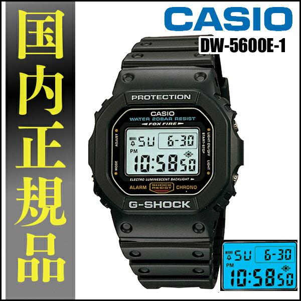腕時計, メンズ腕時計 CASIOG DW-5600E-1G- G-SHOCK DW5600E1TCHD CAWT