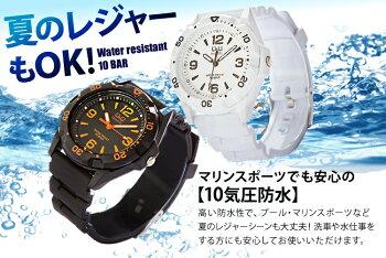 【時計】ポップでスタイリッシュ!腕時計Q&Q13カラー【ウォッチアームウォッチうで時計とけいクロック新入学新生活新成人】シチズンVR44-001・ブラック【メール便】【送料無料】