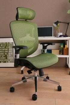エクストラクール・ハイバックチェアあす楽対応送料無料オフィスチェアメッシュチェアハイバックチェア椅子パソコンチェアいすイスかっこいいおしゃれオフィス書斎BK・GR・WR・BL・Gメッシュキャスター事務椅子