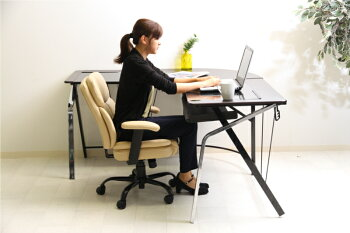 オフィスチェア送料無料PUプレジデントチェアマンチェスタ60002デスクチェアパソコンチェアPCチェア回転イス椅子いすイスチェアレザーチェアミドルバックブラック・アイボリー・ブラウンキャスターレザー