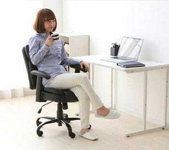 デスクチェアオフィスチェア回転イス椅子デスクチェア回転イス回転イスデスクチェアPUプレジデントチェアーマンチェスター不二貿易