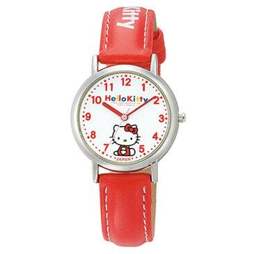 シチズンQ&Qウォッチ 0005N001腕時計 時計 HELLO KITTY ハローキティ レディース 防水 シチズンQ&Q ホワイト×レッド【D】