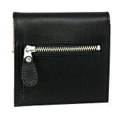 【10%OFFクーポン】アシュフォードキュリオスリム2つ折ウォレットブラック財布メーカー品番9158-011