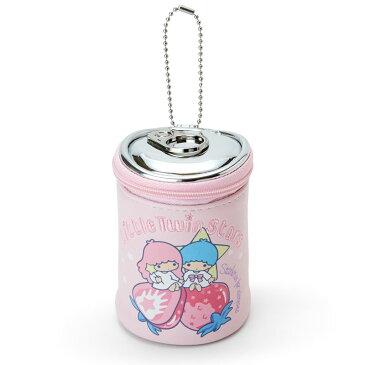 お茶目な遊び心いっぱいなポーチに胸キュン☆ サンリオ ツインスターズ 缶ジュースみたいなミニポーチ