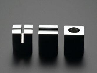 達到不銹鋼的極限對你用高級的桌面附件最大的質量的PRIMARIO Vestige鎮紙立方體(3種安排)PM12+13+14