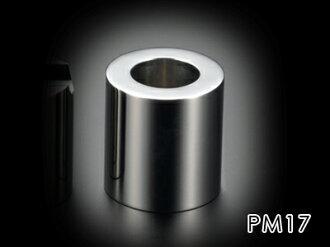 達到不銹鋼的極限對你用高級的桌面附件最大的質量的PRIMARIO Vestige鎮紙汽缸(零)PM17
