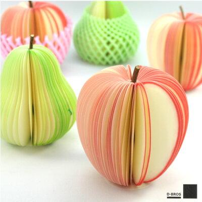 芸が細かい!本物の果物そっくりのKUDAMEMO