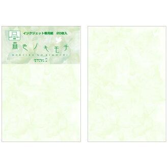 Midori midori 明信片森林顏色 nokimoti
