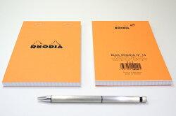 ロディアRHODIAブロックロディアNo.1410冊セット+1冊おまけ【デザイン文具】【デザインおしゃれ】