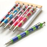 シエラ SIERRA 木軸ボールペン ボーダー柄 Sサイズ【デザイン文具】【デザイン おしゃれ】【雑貨 文房具】