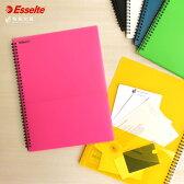 エセルテ ESSELTE 8ポケットA4 クリア ファイル【デザイン おしゃれ】【輸入 海外】【ファイル】仕分け