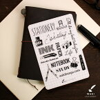 トラベラーズノート 下敷き 和気文具オリジナル トラベラーズノート パスポートサイズ用 下敷き【あす楽対応】