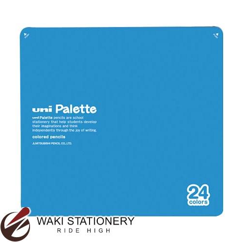 三菱鉛筆 ユニパレット 色鉛筆 24色