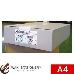 エーワンパソコンプリンタ&ワープロラベルNEC文豪3列用18面A4判500シート28728