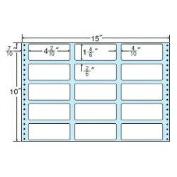 ナナフォームナナフォーム連続ラベルMタイプ15×10インチ15面(500折)MT15C