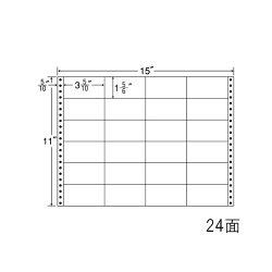 ナナフォームナナフォーム連続ラベルMタイプ15×11インチ24面(500折)M15G