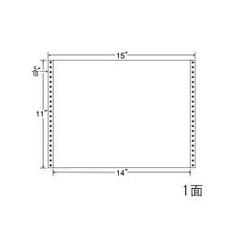ナナフォームナナフォーム連続ラベルMタイプ15×11インチ1面(500折)MT15G