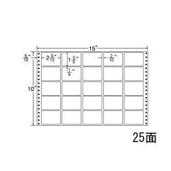 ナナフォームナナフォーム連続ラベルMタイプ15×10インチ25面(500折)MT15S