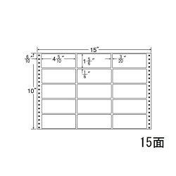 ナナフォームナナフォーム連続ラベルMタイプ15×10インチ15面(500折)M15T