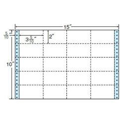 ナナフォームナナフォーム連続ラベルMタイプ15×10インチ20面(500折)M15Y