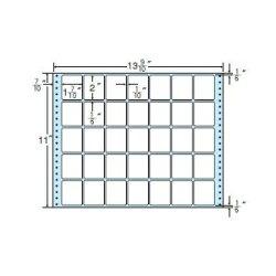 ナナフォームナナフォーム連続ラベルMタイプ13(9・10)×11インチ35面(500折)M13M