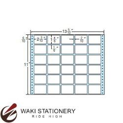 ナナフォームナナフォーム連続ラベルMタイプ13(5・10)×11インチ30面(500折)MX13O