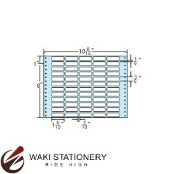 ナナフォームナナフォーム連続ラベルMタイプ10(8・10)×8インチ60面(500折)MT10K