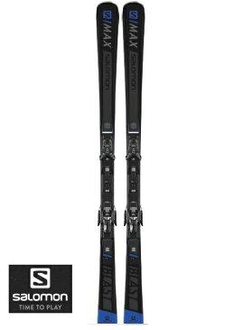 SALOMON スキー板 + ビンディング付S MAX BLAST + X12 TL2018-2019