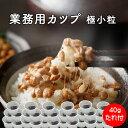業務用 【 北海道産 】 朝食用カップ納豆 40g×15個 (タレ付き)……