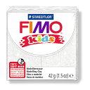 【メ可/遅】ステッドラー CLAY FIMO オーブンクレイ フィモ キッズ <グリッターホワイト> 8030-052