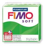 【メ可】ステッドラー CLAY FIMO オーブンクレイ フィモ ソフト <トロピカルグリーン> 8020-53