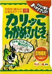 カリッこわかめ&ひじき65g1箱=12入(一正蒲鉾)