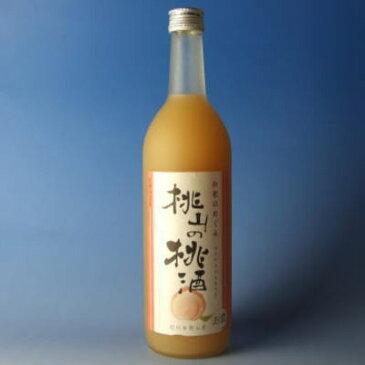 和歌のめぐみ 桃山の桃酒 720ml世界一統の和風リキュール【和歌山県産】甘いお酒