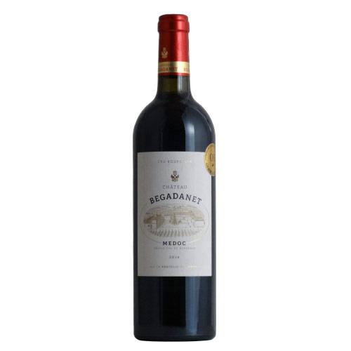 訳ありシャトー・ベガダン 2014 メドッククリュ・ブルジョワ金賞AOCメドック赤格上フランスワイン赤ワイン750MLラベルやキ